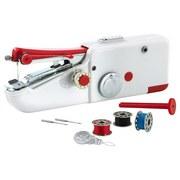 Easymaxx Handnähmaschine - Rot/Weiß, Basics, Kunststoff (21/5/7,5cm)