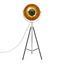 Stojací Lampa Jule V: 176cm, 60 Watt - černá/barvy zlata, Lifestyle, kov (50/176cm) - Mömax modern living