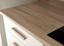 Küchenleerblock Quince 210cm Weiß - Weiß/Sonoma Eiche, MODERN, Holzwerkstoff (210/211/60cm)