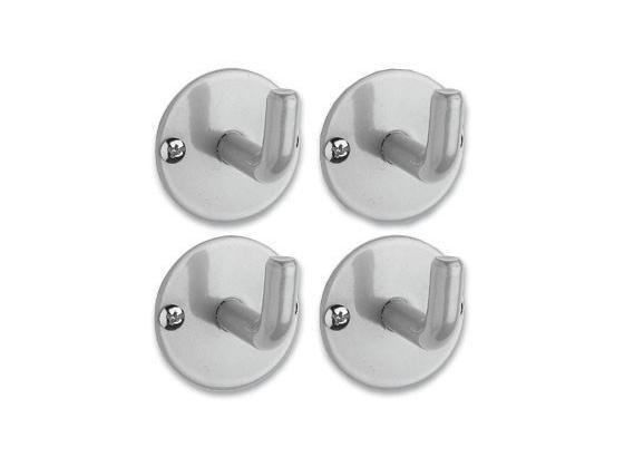 Haken Hängar - Alufarben, Basics, Metall (5/5cm) - Mömax modern living