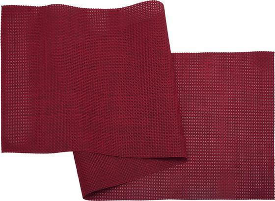 Ubrus 'běhoun' Na Stůl Stefan In Kirschrot - červená, umělá hmota (45/150cm) - Mömax modern living