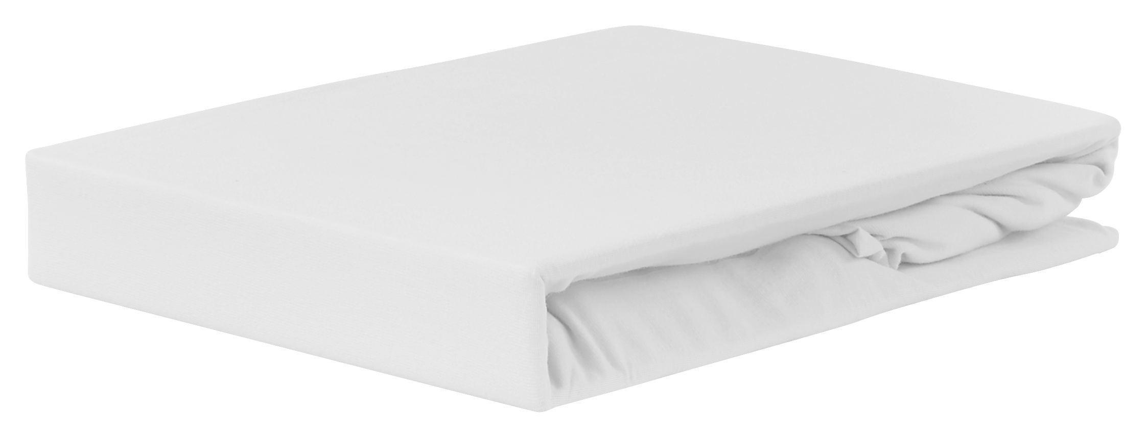 Gumis Lepedő Jardena Fehér - fehér, konvencionális, textil (100/200cm) - OMBRA