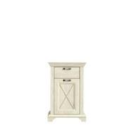 Kommode Kashmir B: 73 cm - Weiß/Pinienfarben, Basics, Holzwerkstoff/Kunststoff (73,3/114,6/46,2cm)