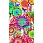 Strandtuch Feliz - Multicolor, Basics, Textil (100/180cm)