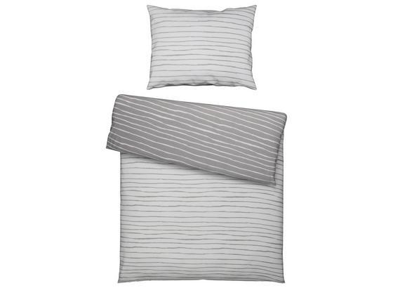 Povlečení Nadja Wende -based- - bílá/růžová, textil - Based