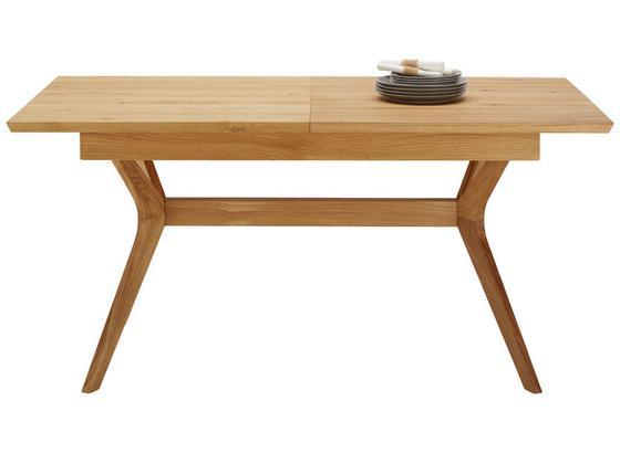 Výsuvný Stůl Ara - barvy dubu, Lifestyle, dřevo (160-210/76/90cm) - Zandiara