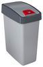 Szemetes Kuka Magne - Ezüst, konvencionális, Műanyag (39,5/24/47,5cm)