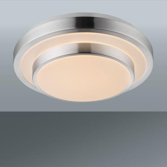 LED STROPNÁ LAMPA MELVIN - biela, Konvenčný, umelá hmota/kov (29/9cm) - MÖMAX modern living
