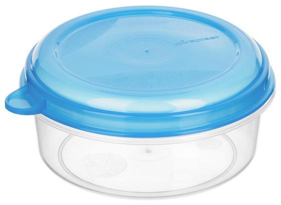 Frischhaltedose Kunststoff - Blau/Pink, KONVENTIONELL, Kunststoff (10.5/5.2cm)