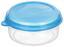 Frischhaltedose Kunststoff - Blau/Rot, KONVENTIONELL, Kunststoff (10.5/5.2cm)