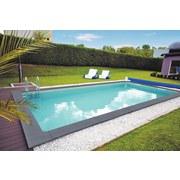 Schwimmbecken Kwad Pool Plus Gran Canaria - Weiß, Basics, Kunststoff (800/400/150cm)