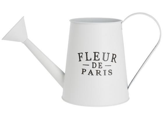 Konev Kropicí Fleur De Paris - bílá, Romantický / Rustikální, kov (33/17,5/15cm) - Mömax modern living