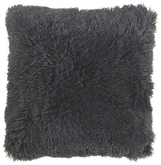 Zierkissen Carina 45x45 cm - Anthrazit, MODERN, Textil (45/45cm) - Luca Bessoni