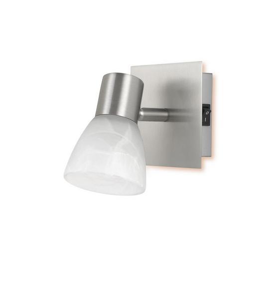 Spotlámpa Katrin - Fehér, konvencionális, Üveg/Fém (10/13/10cm)