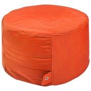 Outdoorsitzsack Rock B: 60 cm Orange - Orange, Basics, Kunststoff (60/35/60cm) - Livetastic