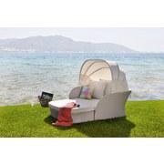 Loungegarnitur Ibiza - MODERN, Kunststoff/Textil (157/75,5/195cm) - LUCA BESSONI
