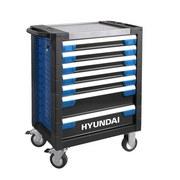 Werkstattwagen Set 305-teilig - Blau/Schwarz, KONVENTIONELL, Metall (79/104/49cm) - Hyundai