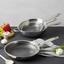Pánev Gourmet - barvy stříbra, Konvenční, kov (28/5cm) - Premium Living