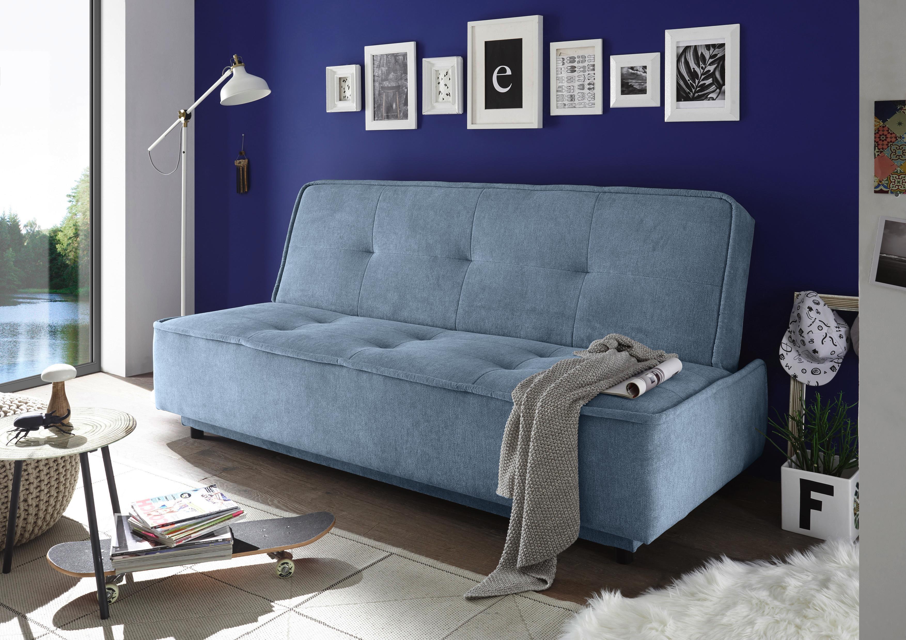 Schlafsofa DELIA in Blau