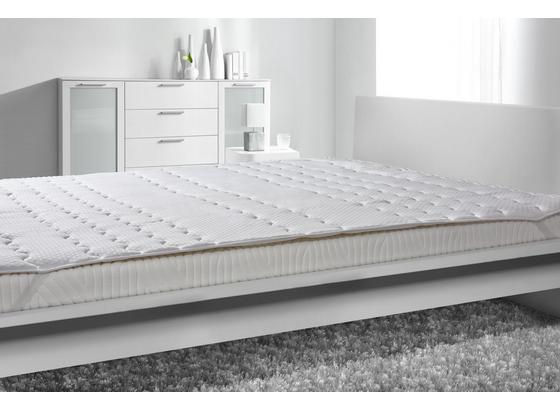 Chránič Matrace Visco, 180x200cm, Bílá - bílá, textil (180/200cm) - Nadana