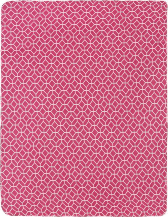 Flaušová Deka Sahara - červená, Štýlový, textil (130/170cm) - MÖMAX modern living