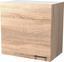 Horná Kuchynská Skrinka Samoa  H 60 - farby dubu/biela, Konvenčný, drevený materiál (60/54/32cm)