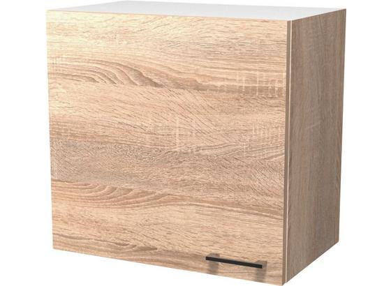 Kuchyňská Horní Skříňka Samoa  H 60 - bílá/barvy dubu, Konvenční, kompozitní dřevo (60/54/32cm)