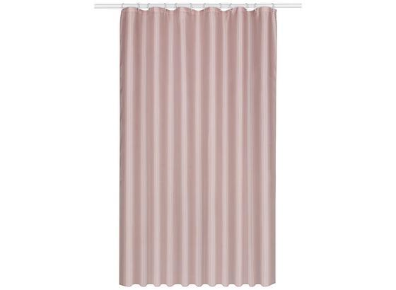 Záves Do Sprchovacieho Kúta Uni - ružová, textil (180/200cm) - Mömax modern living