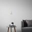 Závesná Lampa Abby - biela, Moderný, plast (9/92cm) - Mömax modern living