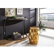Beistelltisch D: ca. 30 cm Goldfarben - Goldfarben, LIFESTYLE, Metall (30/47/30cm) - Carryhome