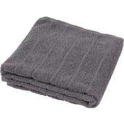 Handtuch Lilly - Anthrazit, KONVENTIONELL, Textil (50/100cm)