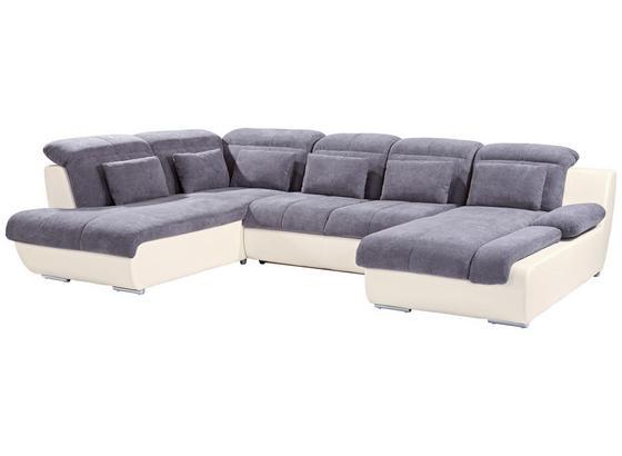 Sedací Souprava Multi - šedá/krémová, Moderní, textil (228/345/184cm)