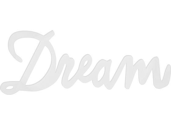 Dekorační Písmena Maggie - bílá, Moderní, kompozitní dřevo (77/29/1,2cm) - Mömax modern living