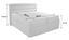 Boxspringbett Olympie 180x200 Weiß - Weiß, MODERN, Kunststoff (180/200cm)