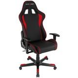 Gamingstuhl DX Racer Formula Schwarz/Rot - Rot/Schwarz, MODERN, Kunststoff/Textil (67/119-128/67cm) - Dxracer