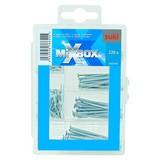 Nagelsortiment Mixbox Nägel Mini - Silberfarben, Metall - SUKI