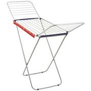 Standtrockner Classic Siena 200 Easy Alu - Blau/Rot, MODERN, Metall (187/55/94cm) - Leifheit