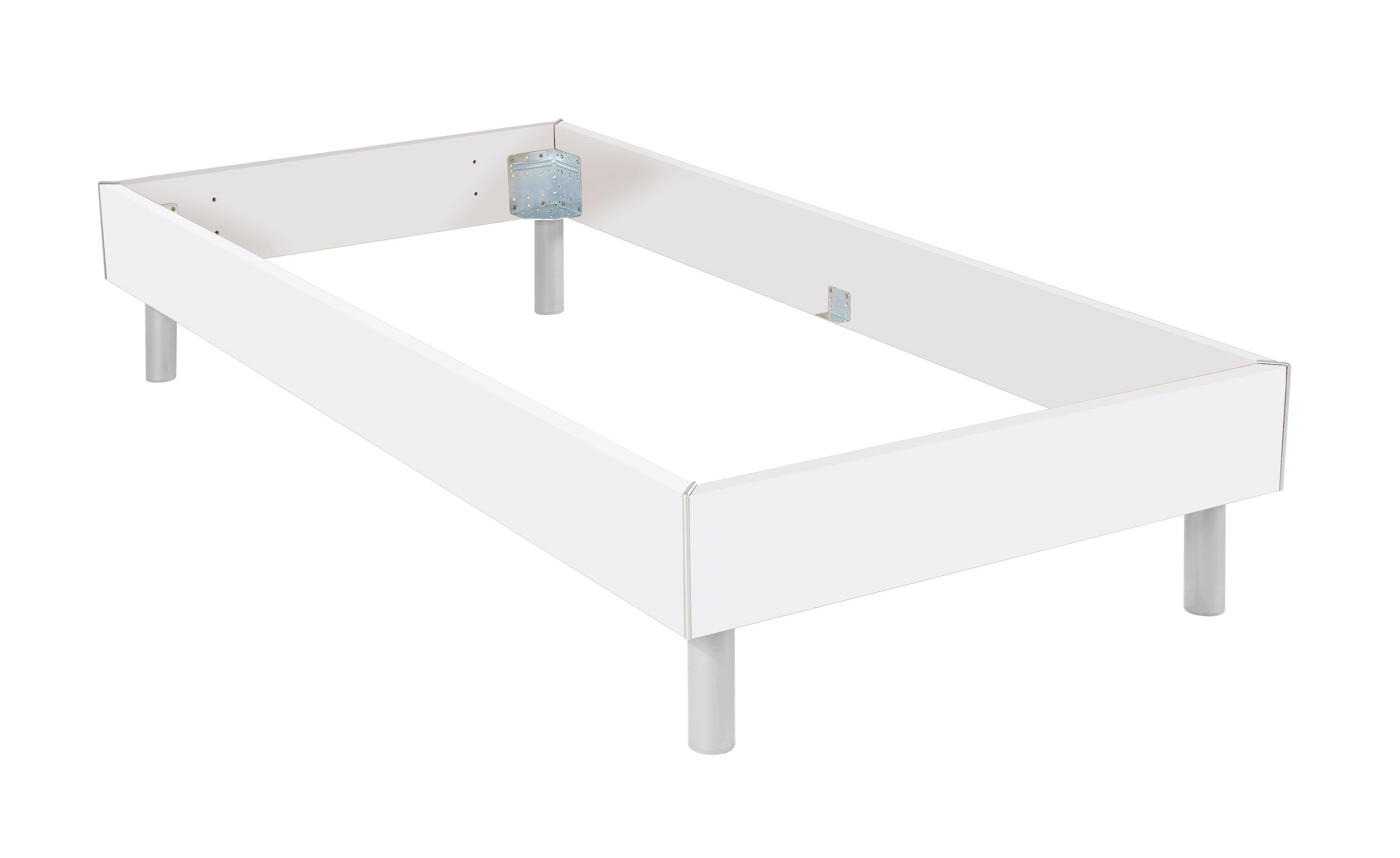 Futónová Posteľ Belia - Konvenčný, drevený materiál (120/200cm)