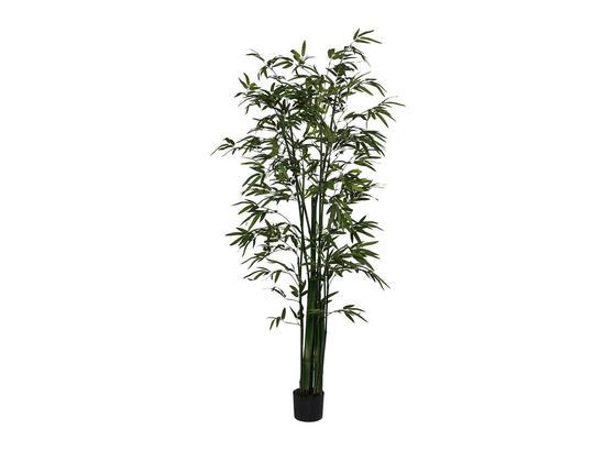 Umelá Rastlina Bambus I - zelená, kompozitné drevo/plast (180cm)
