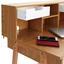 Schreibtisch Göteborg - Naturfarben, MODERN, Holz/Holzwerkstoff (90/100/55cm) - Ombra