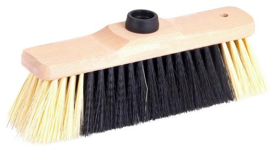 Besen Woody, Indoor - Gelb, KONVENTIONELL, Holz/Kunststoff (27/5/10cm) - Ombra