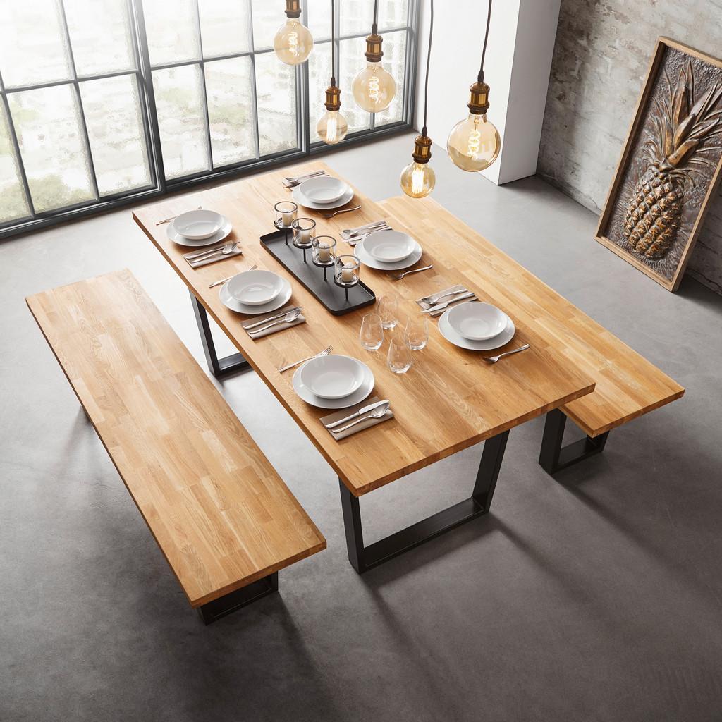 Stůl Z Masivu Kayla 180x90 Cm
