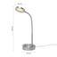 Lampa Led Na Psací Stůl Holger Max. 3 Watt, V: 30 Cm - barvy chromu, Moderní, kov (20/30cm) - Mömax modern living