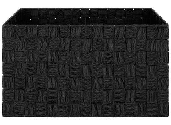 Košík Charlotte - L - čierna, kov/plast (37,5/27,5/20,5cm) - Mömax modern living