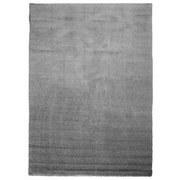 Hochflor Teppich Grau Nobel Micro 80x150 cm - Grau, MODERN, Textil (80/150cm)