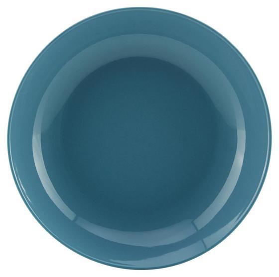 Talíř Na Polévku Sandy - modrá, Konvenční, keramika (20/3,5cm) - Mömax modern living