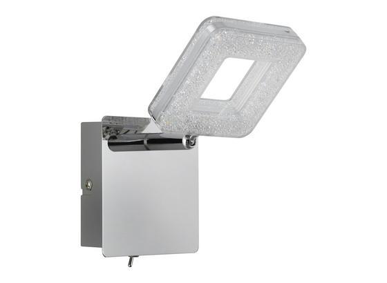 Led Svítidlo Nanni - barvy chromu, Romantický / Rustikální, kov/umělá hmota (10,5/17cm) - Premium Living