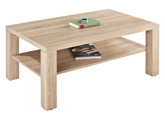Dohányzóasztal Coffee - Tölgyfa, konvencionális (110/45/67cm)