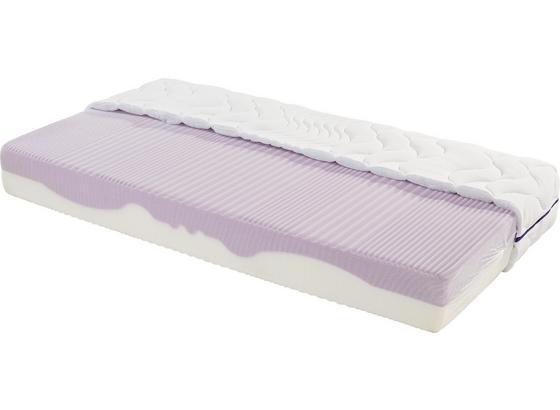 Komfortschaummatratze Ergo Duo 160x200cm H2 - Weiß, Textil (160/200cm) - Primatex