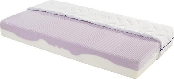 Komfortschaummatratze Ergo Duo H2 90x200 - Weiß, Textil (90/200cm) - Primatex